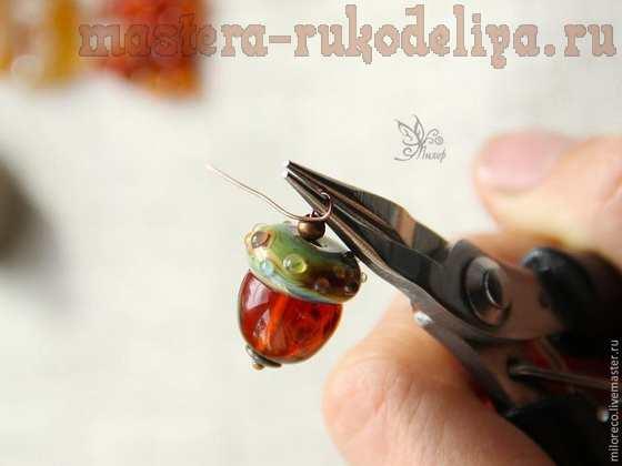 Мастер-класс по сборке бижутерии: Браслет-гроздь «Очей очарованье»