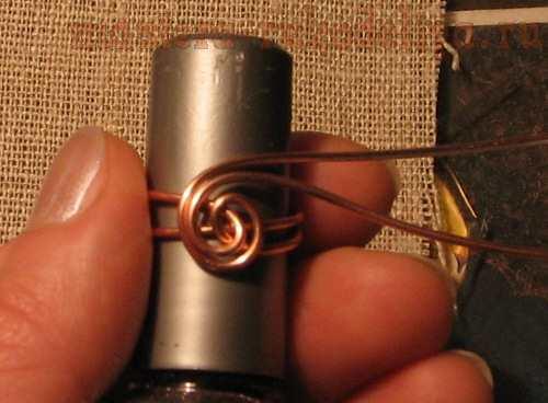 Мастер-класс: Изготовление кольца с; узелком.