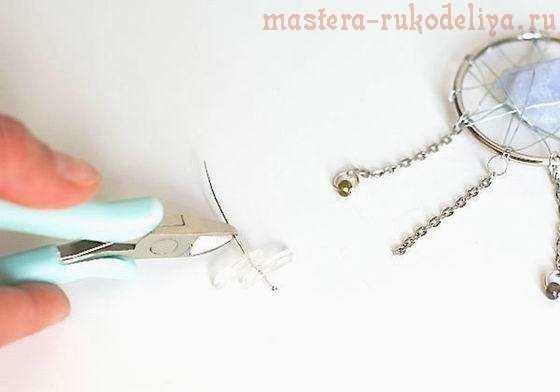 Мастер-класс по сборке бижутерии: Колье с подвеской-паутинкой