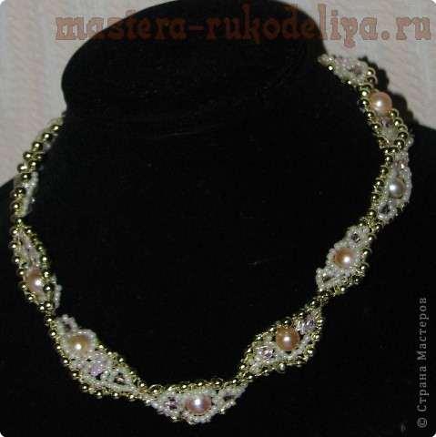 Мастер-класс: Ожерелье Античная мозаика