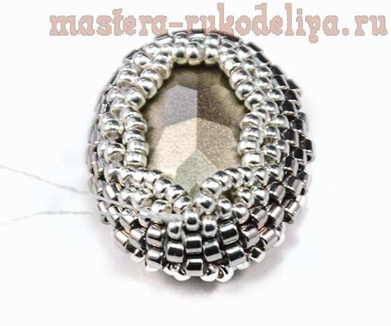 Мастер-класс по бисероплетению: Ажурное оплетение ювелирных кристаллов и жемчуга Сваровски