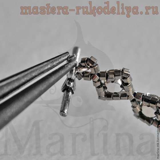 Мастер-класс по бисероплетению: Браслет из бисера и кристаллов Swarovski
