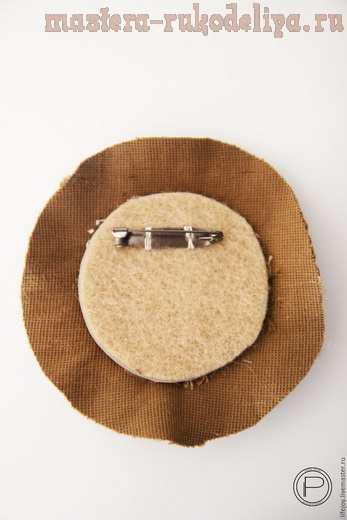 Мастер-класс по вышивке бисером: Брошь вышитая нитками, бисером и пайетками
