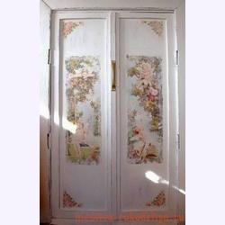 Мастер-класс по декупажу: Декор двери