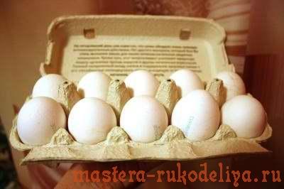Декупаж к Пасхе: Тарелочка и праздничные яйца