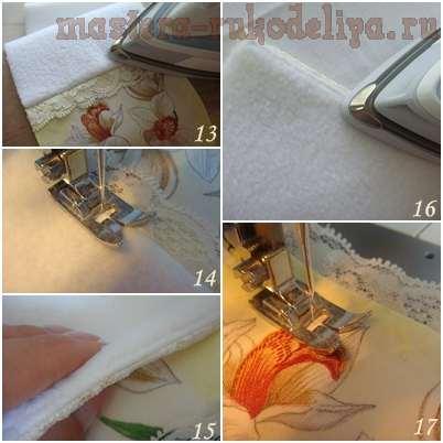 Мастер-класс по декупажу на ткани: Чехол для очков