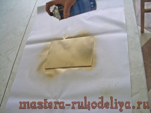Мастер-класс: Картина для записок