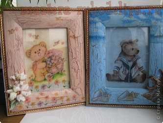 Мастер-класс по декупажу на дереве: Картины-панно в детскую
