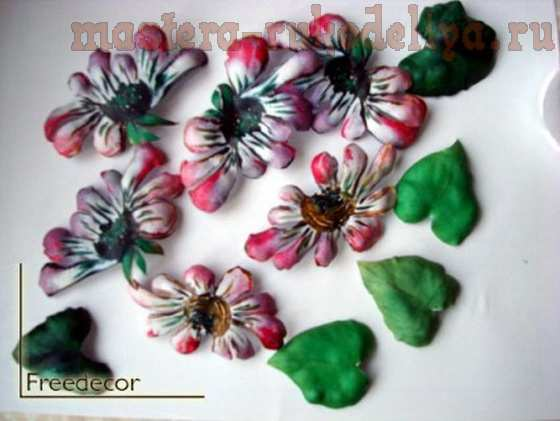 Мастер-класс по декупажу на дереве: Декор рамки объемными цветами
