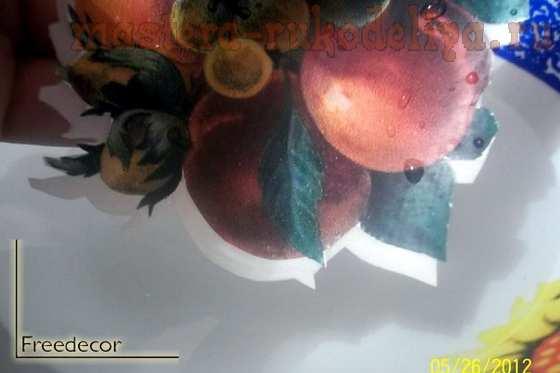 Мастер-класс по декупажу на дереве: Доска; Кухонный устав.