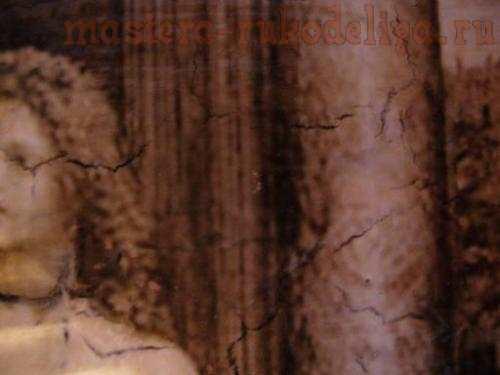 Мастер-класс по декупажу на дереве: Столик «Вилла Фарнезина»