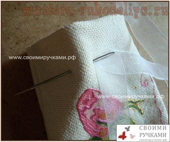 Мастер-класс по декупажу на ткани: Ароматическое саше