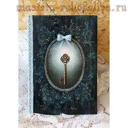 Мастер-класс по декупажу: Декор блокнота; Книга Желаний.