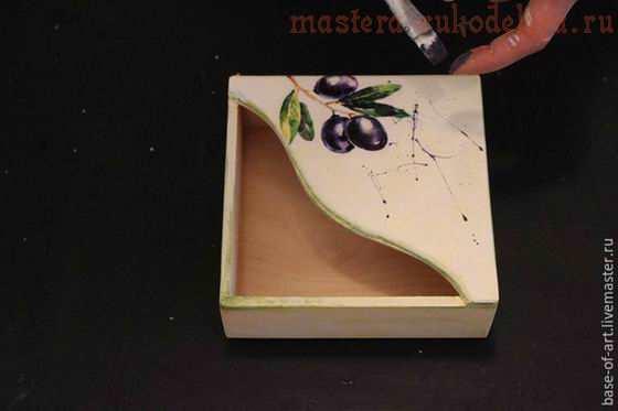 Мастер-класс по декупажу на дереве: Декор уютной салфетницы