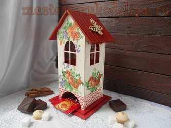Мастер-класс по декупажу на дереве: Чайный домик; Летний.