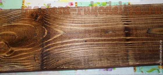 Мастер-класс по росписи: Фон для фотографий из натурального дерева