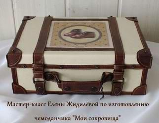 Как сделать из коробки из под обуви шкатулку в виде чемоданчика