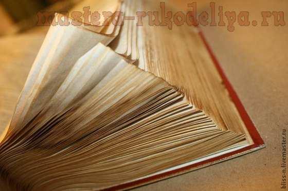 Мастер-класс по декупажу на дереве: Коллекционная книга