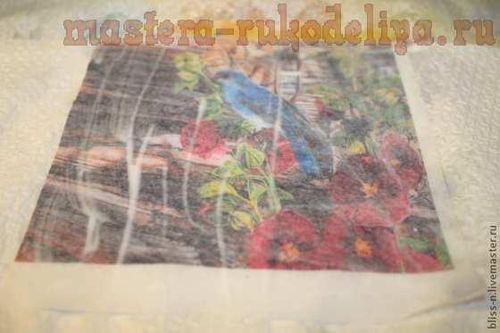 Мастер-класс по декупажу на дереве: Кормушка для птичек