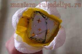 Мастер-класс по букетам из конфет: Нарциссы