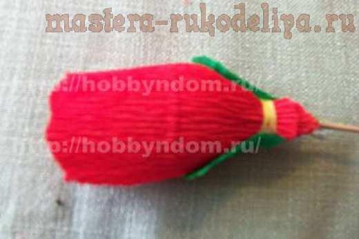 Мастер-класс по букетам из конфет: Букет маков