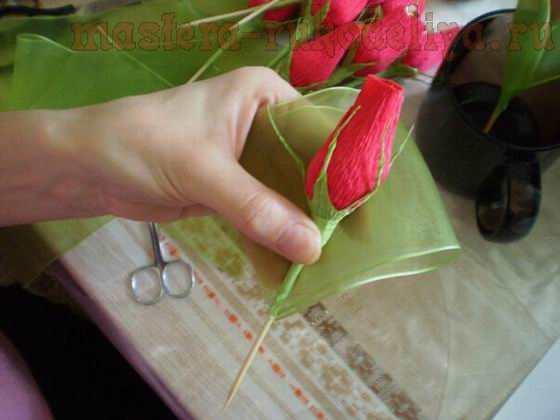 Мастер-класс по свит-дизайну: Сладкая композиция; Бутоны роз.
