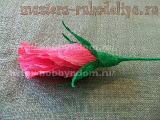 Мастер-класс по букетам из конфет: Бутоны роз
