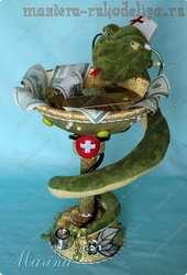 Мастер-класс по свит-дизайну: Чаша со змеей