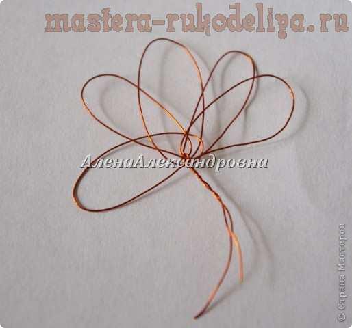 Мастер-класс: Цветы из ниток