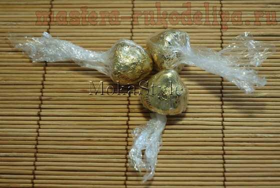 Мастер-класс по букетам из конфет: Герберы