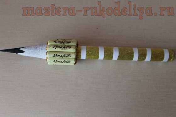 Мастер-класс по свит-дизайну: Канцелярский набор из конфет