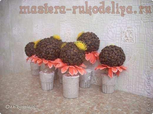 Мастер-класс по декорированию: Кофейные цветы