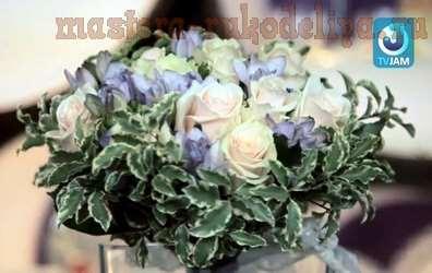 Видео мастер-класс по флористике: Как сделать букет невесты