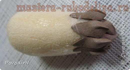 Мастер-класс по поделкам из фоамирана: Еловая веточка
