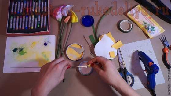Мастер-класс по цветам из фоамирана: Каллы