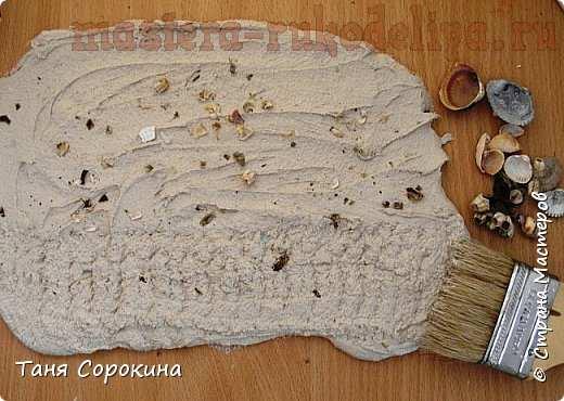 Мастер-класс по лепке из гипса: Камень-ракушняк своими руками