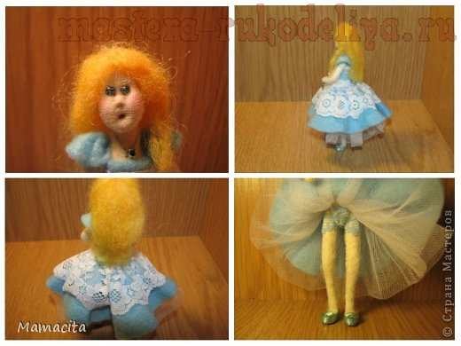 Мастер-класс по шитью из фетра: Алиса