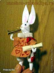 Мастер-класс по шитью из фетра: Белый Кролик из Алисы в Стране Чудес