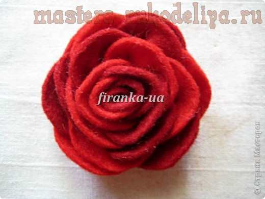 Мастер-класс по шитью из фетра: Букет из фетровых цветов