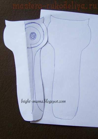 Мастер-класс по шитью из фетра: Чехол для ножниц; Сова.