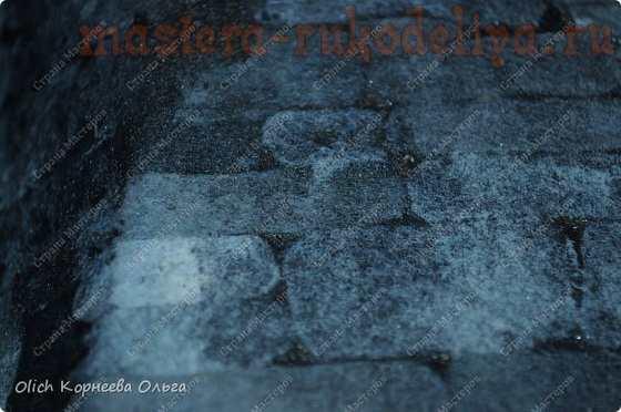 Мастер-класс по шитью из фетра: Имитация камня фетром