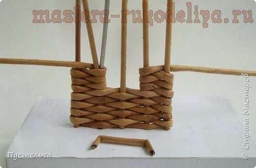 Мастер-класс по плетению из газет: Домик и мельница