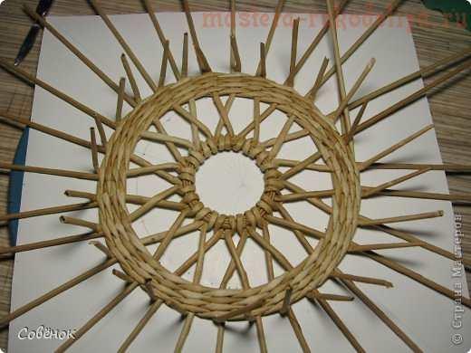 Мастер-класс по плетению из газет: Ажурная крышка для шкатулки