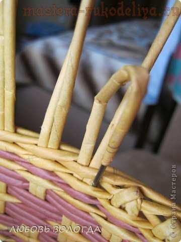 Мастер-класс по плетению из газет: Хлебный комплект