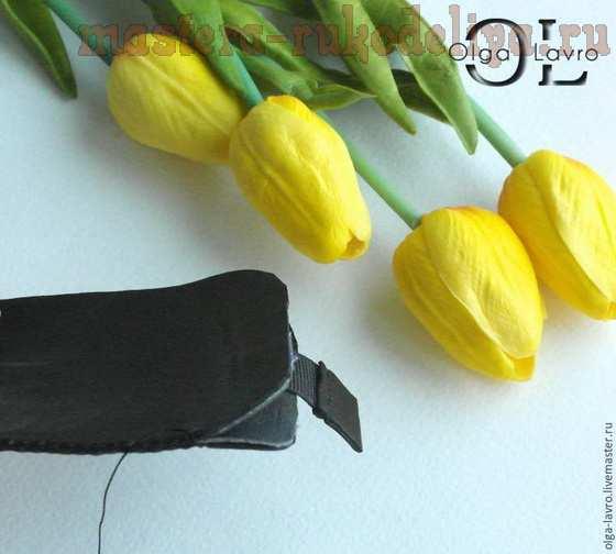 Мастер-класс по изделиям из кожи: Чехол для телефона по мотивам картины Ван Гога «Звёздная ночь над Роной»