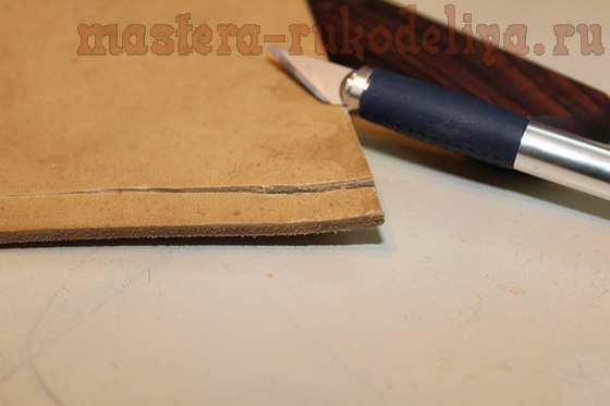 Мастер-класс по изделиям из кожи: Чехольчик для кока