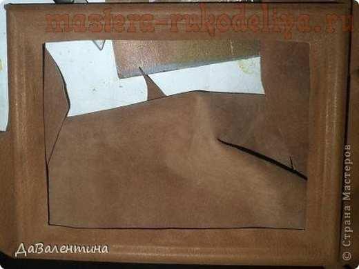 Мастер-класс по изделиям из кожи: Картина в картине