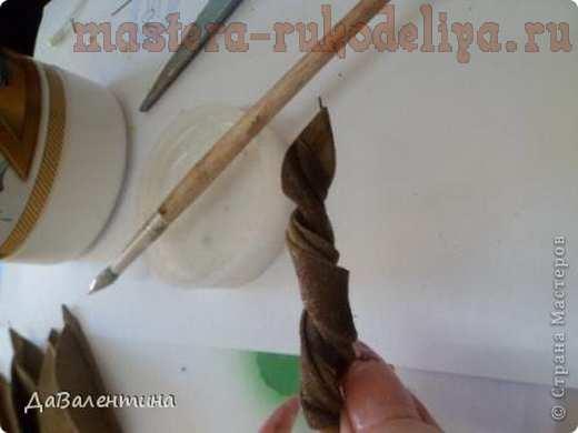 Мастер-класс по изделиям из кожи: Композиция с подсолнухами