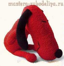 Шьем собаку из носка своими руками