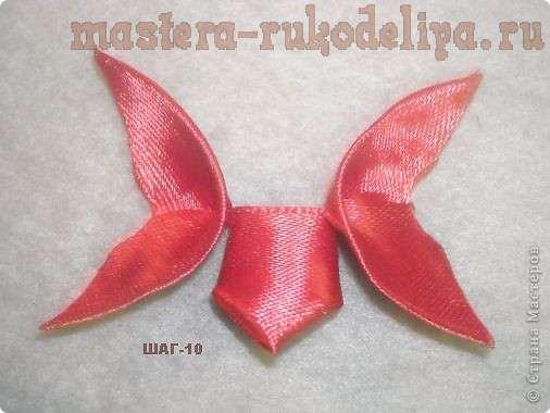 Мастер-класс по канзаши: Бабочка - канзаши
